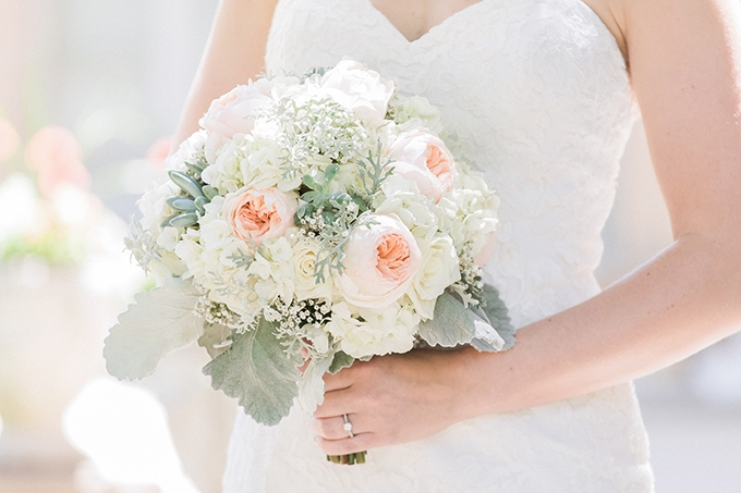 blush bouquet | Bee Mine Photography | Glamour & Grace