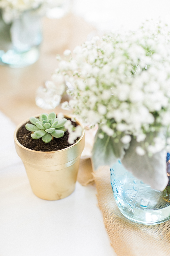 blue spring DIY wedding | Bee Mine Photography | Glamour & Grace