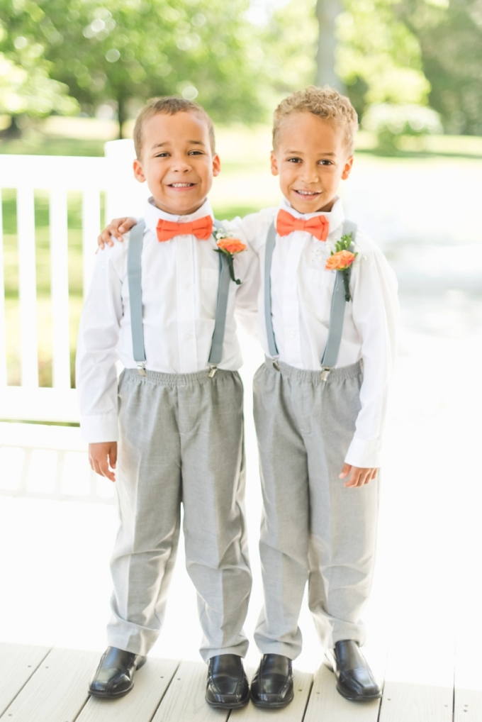 adorable ring bearers | Kate Supa Photography  | Glamour & Grace
