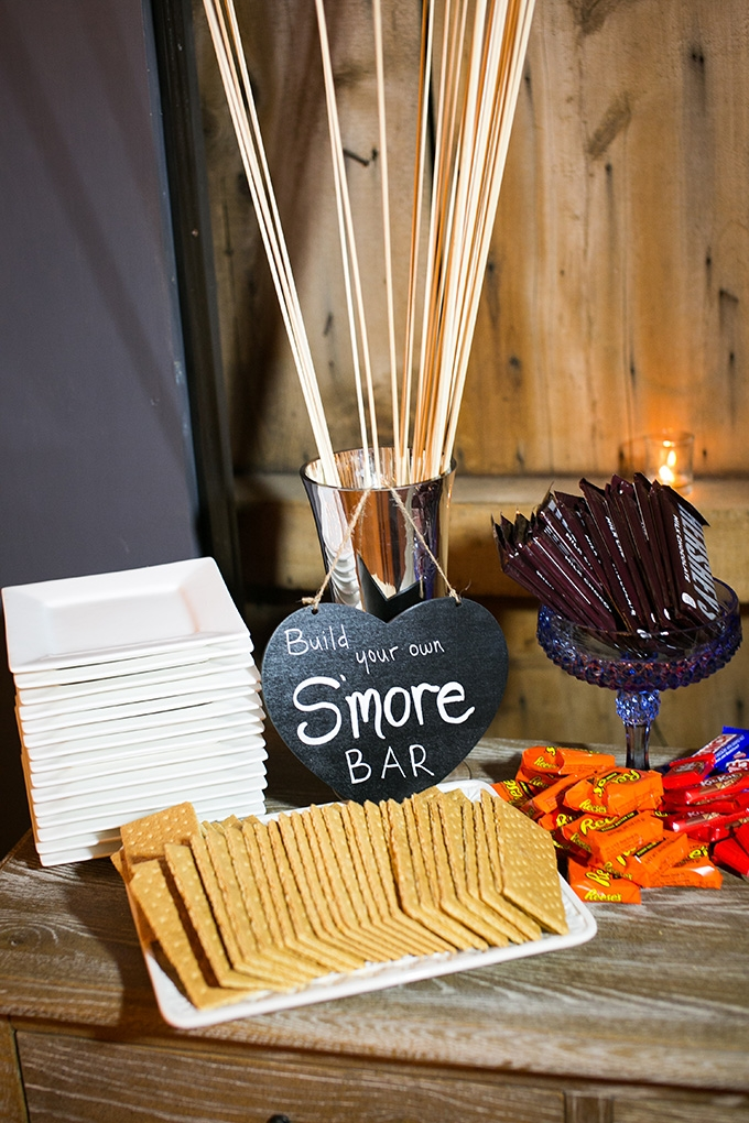 smores bar | Kaysha Weiner Photographer | Glamour & Grace