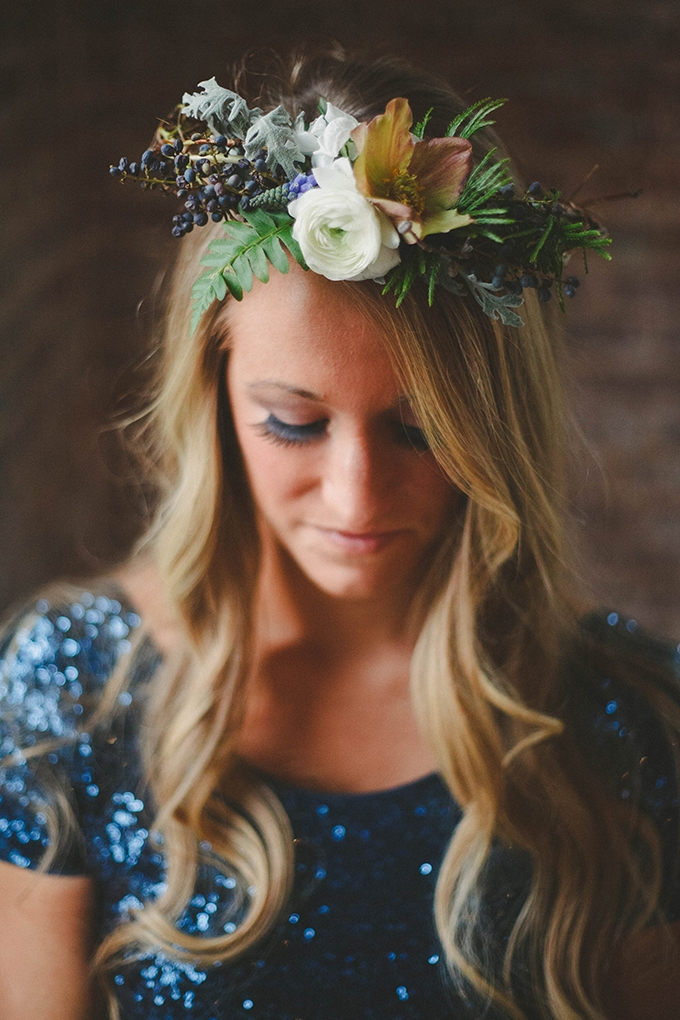 floral crown | Elizabeth Marie Photos | Glamour & Grace