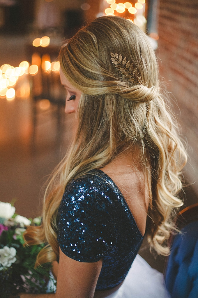 gorgeous wedding hair | Elizabeth Marie Photos | Glamour & Grace