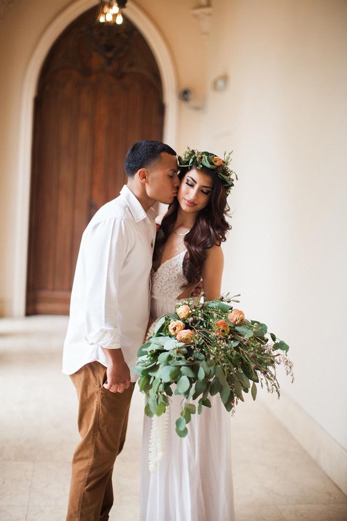 romantic boho engagement | Civicphotos | Glamour & Grace