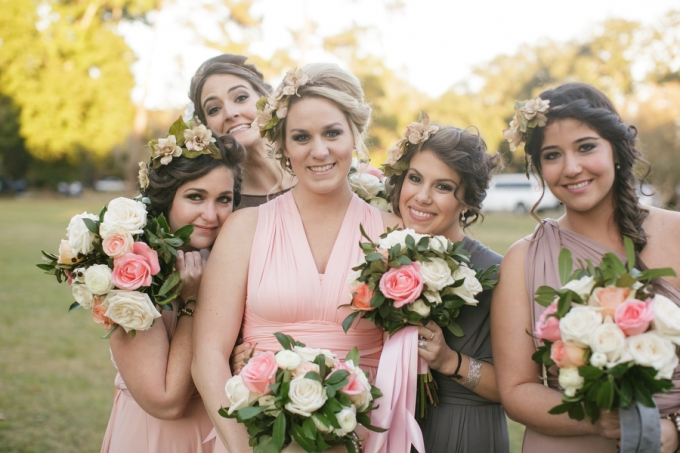 whimsical bridesmaids | Greer Gattuso Photography | Glamour & Grace