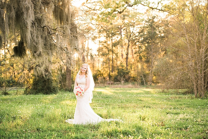 southern bridal portraits | Designs by Karinda | Glamour & Grace