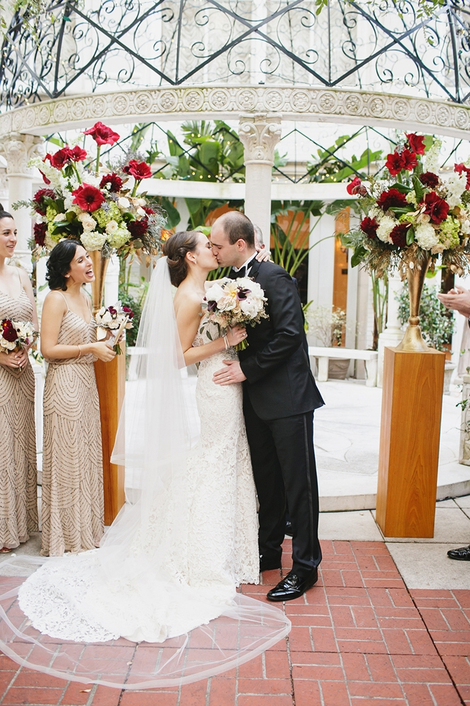 vintage glam New Orleans wedding   Greer G Photography   Glamour & Grace