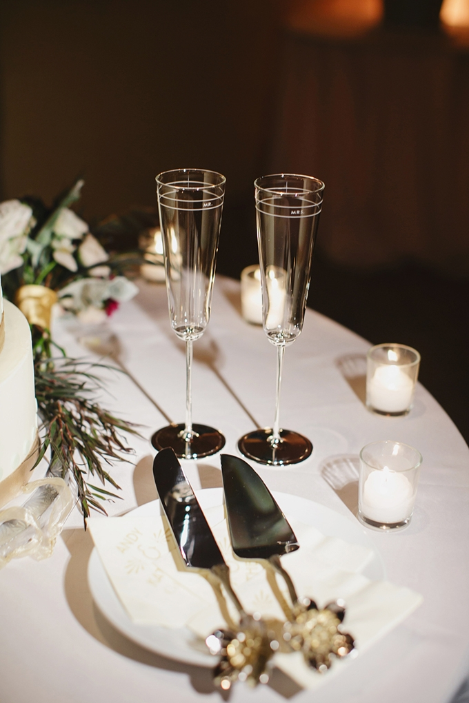 Mr and Mrs flutes   Greer G Photography   Glamour & Grace