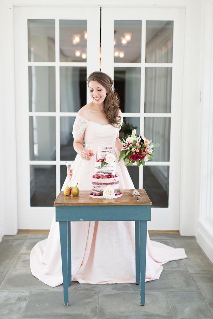 vintage pink wedding inspiration | Lindsay Fauver Photography | Glamour & Grace