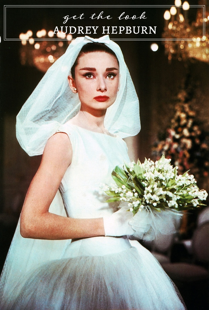 Modern Picks For Audrey Hepburn S Clic Wedding Dress Look