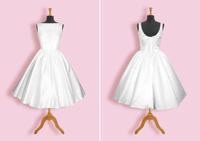 Get the Look | Audrey Hepburn Wedding Dress | Glamour & Grace