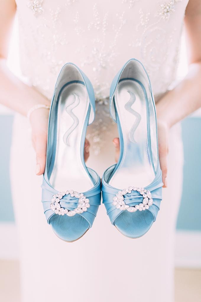 something blue shoes | Jamie Mercurio Photography | Glamour & Grace
