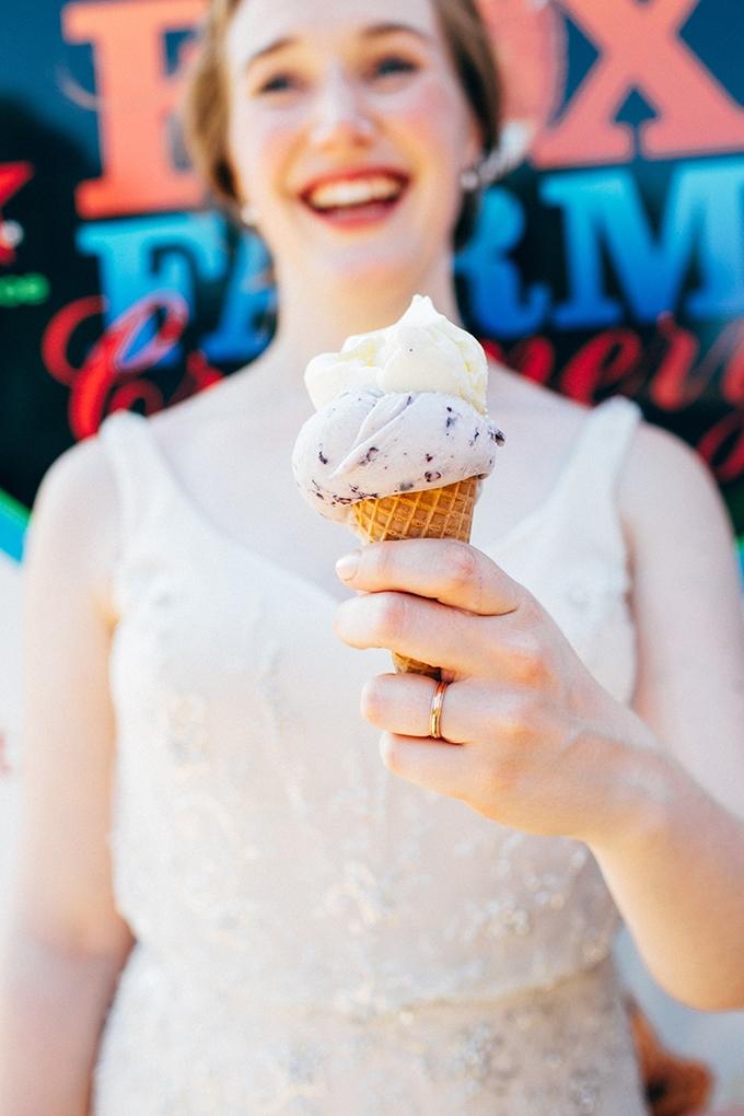 ice cream bride   Jamie Mercurio Photography   Glamour & Grace