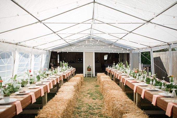 dreamy backyard wedding | Christina Forbes Photography | Glamour & Grace