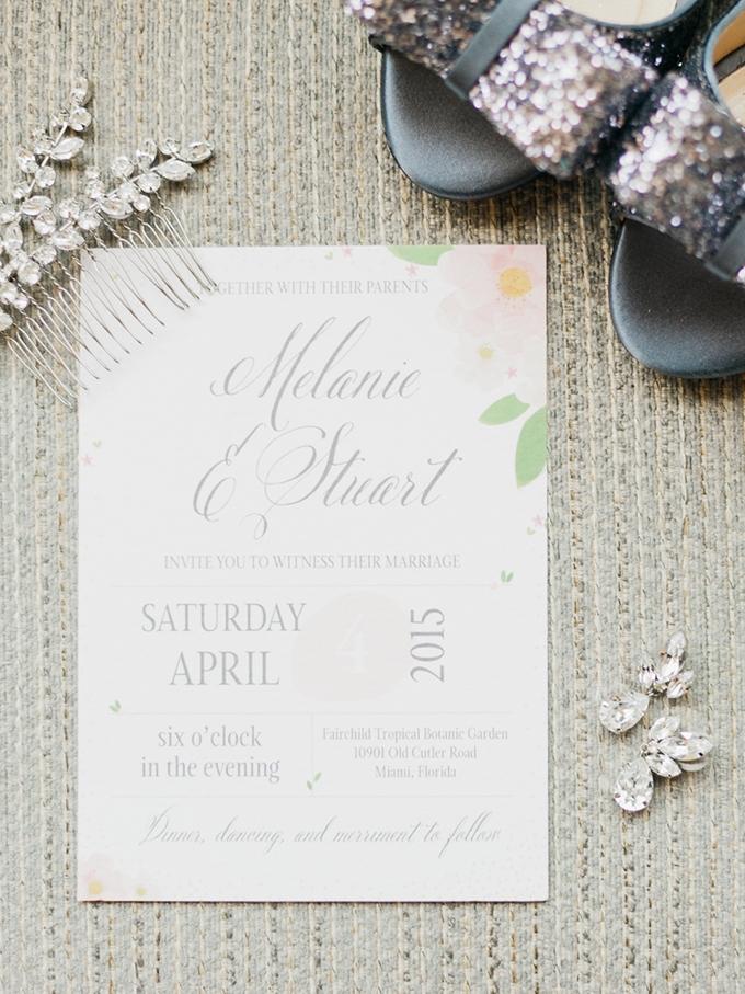 garden wedding invitation | Merari Photography | Glamour & Grace
