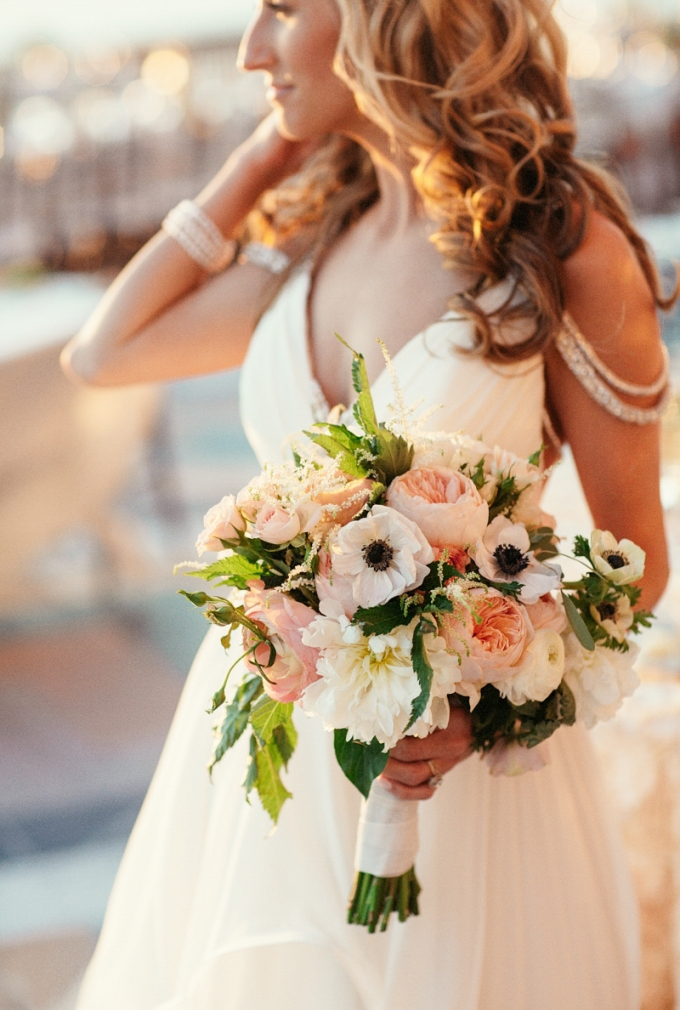 gorgeous pink and white bouquet | Binaryflips Photography | Glamour & Grace
