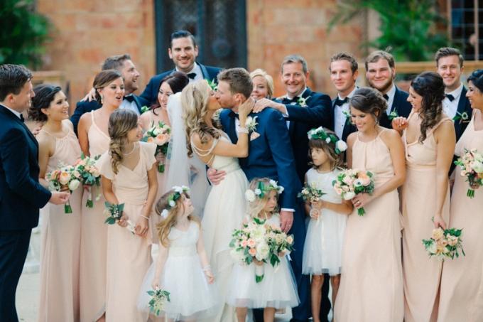 cea6c575deb Romantic Glam Florida Wedding