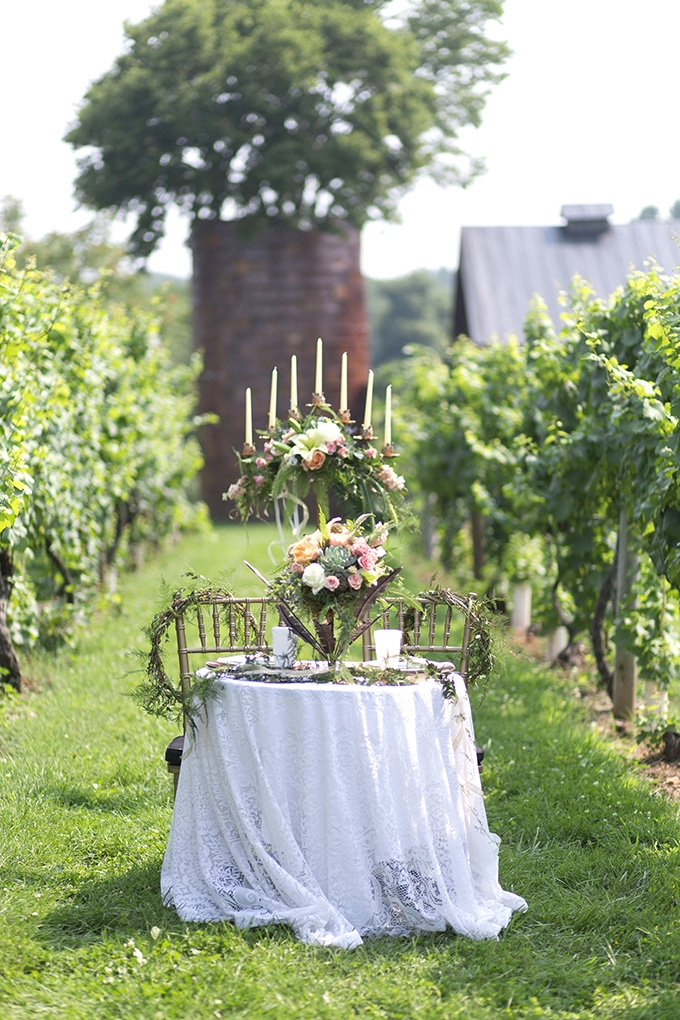 romantic winery wedding | Lieb Photographic | Glamour & Grace