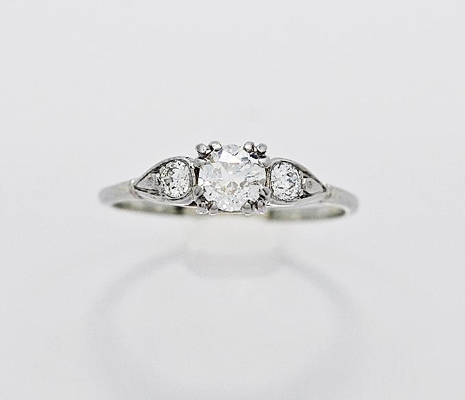 Etsy Vintage Wedding Rings 53 Fresh vintage engagement ring Glamour
