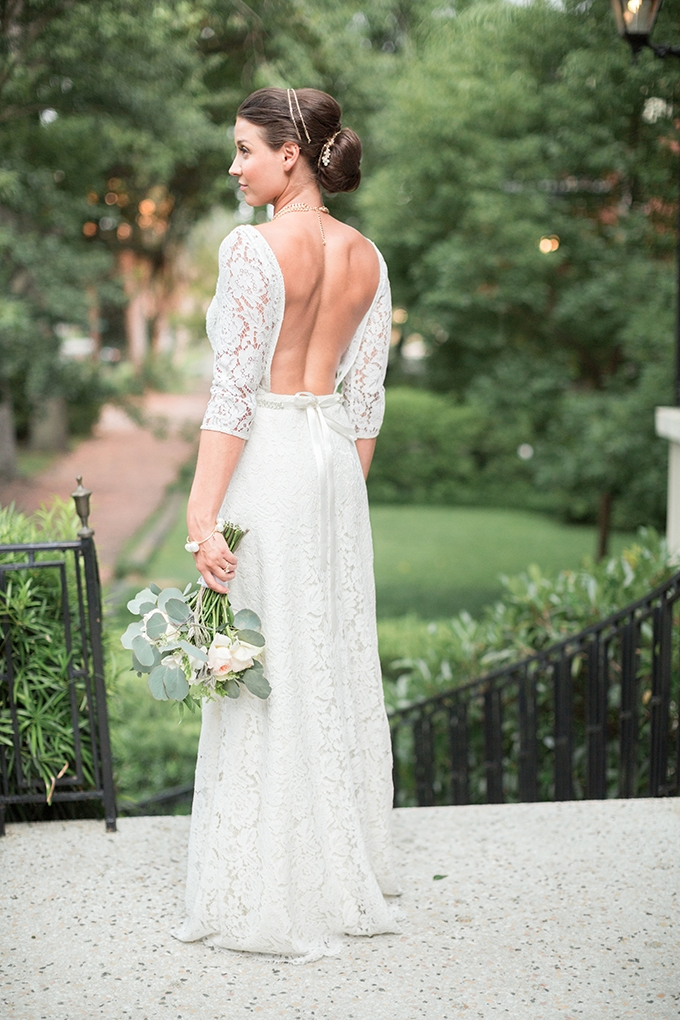 chic backless gown | Lyndi J. Photography | Glamour & Grace