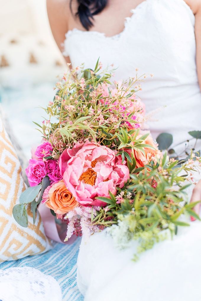 boho bouquet | Tina Joiner Photography | Glamour & Grace
