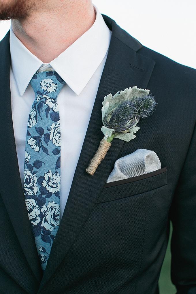 blue groom | Meg Ruth Photo | Glamour & Grace