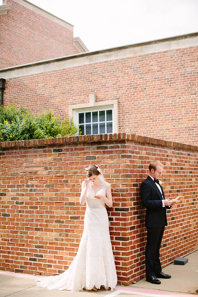 romantic spring garden wedding | Michele Shore Photography | Glamour & Grace