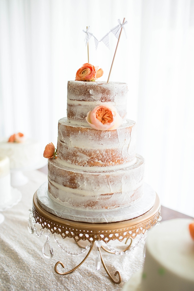 peach cake | Michele Shore Photography | Glamour & Grace
