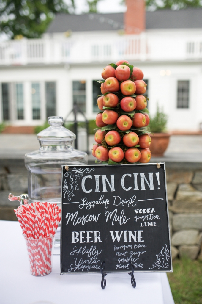 Italian Themed Backyard Wedding | Megan Noonan Photography | Glamour & Grace