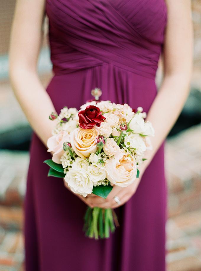 Elegant Marsala And Gold Wedding Glamour Amp Grace