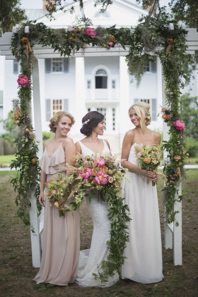 glam plantation wedding inspiration | Ava Moore Photography | Glamour & Grace