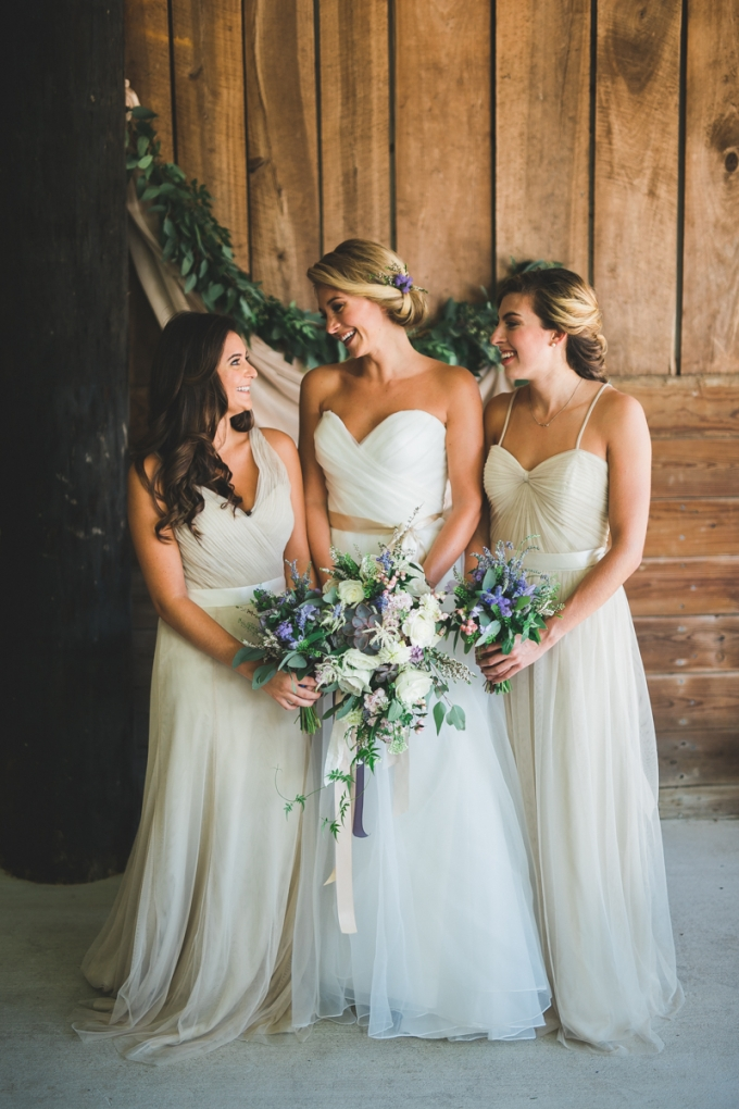 taupe bridesmaids | Victoria Selman Photographer | Glamour & Grace