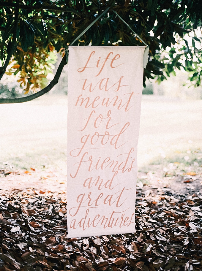 life was meant for good friends and great adventures | Nikki Santerre | Glamour & Grace