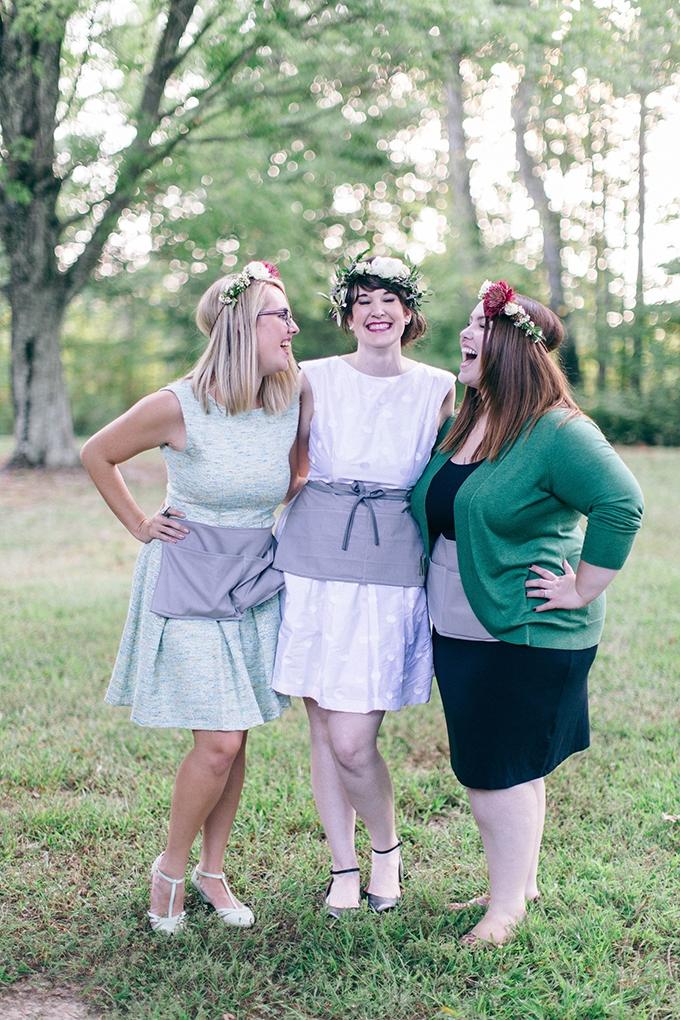 flower crown bachelorette party | Nikki Santerre | Glamour & Grace
