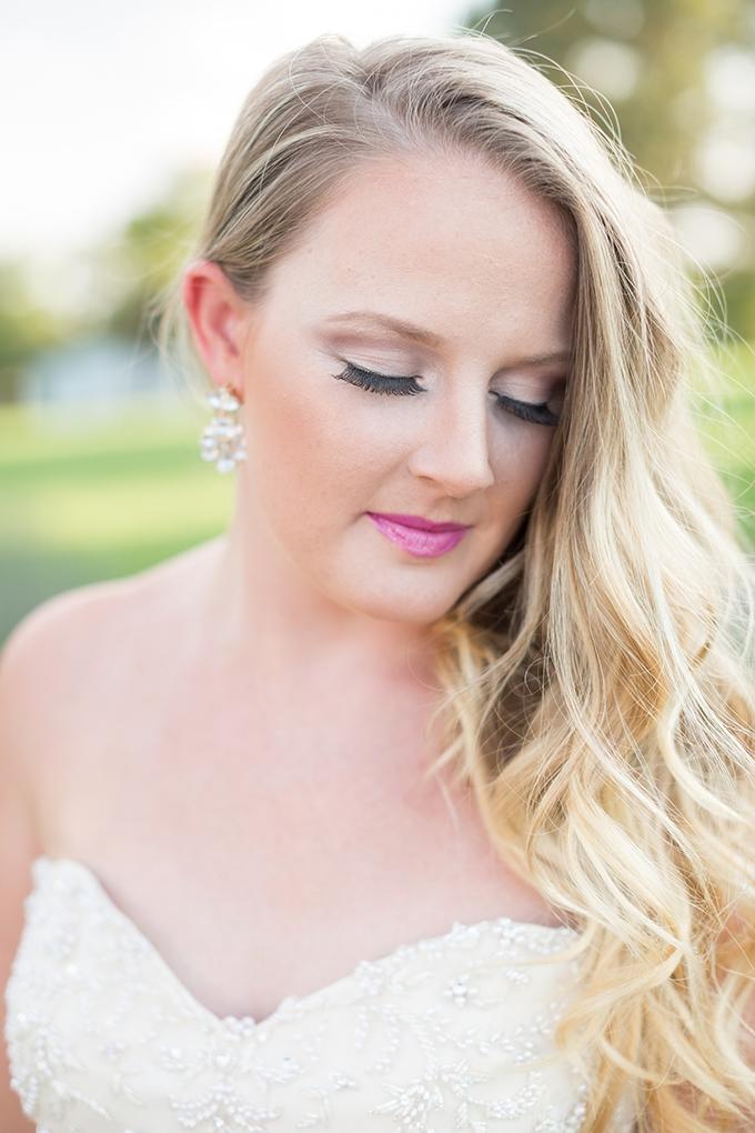 pink lip   Samantha Laffoon Photography   Glamour & Grace