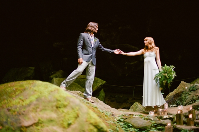 romantic forest elopement | White Rabbit Studios | Glamour & Grac