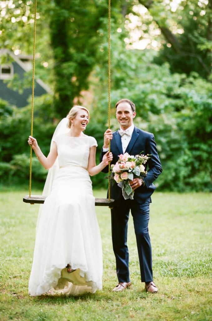 romantic southern wedding | White Rabbit Studios | Glamour & Grace