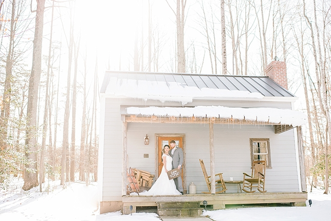 romantic winter wedding inspiration | Amanda Adams Photography | Glamour & Grace