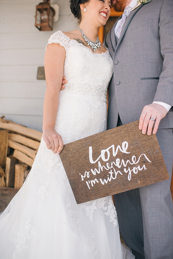love is whenvever I'm with you | Amanda Adams Photography | Glamour & Grace