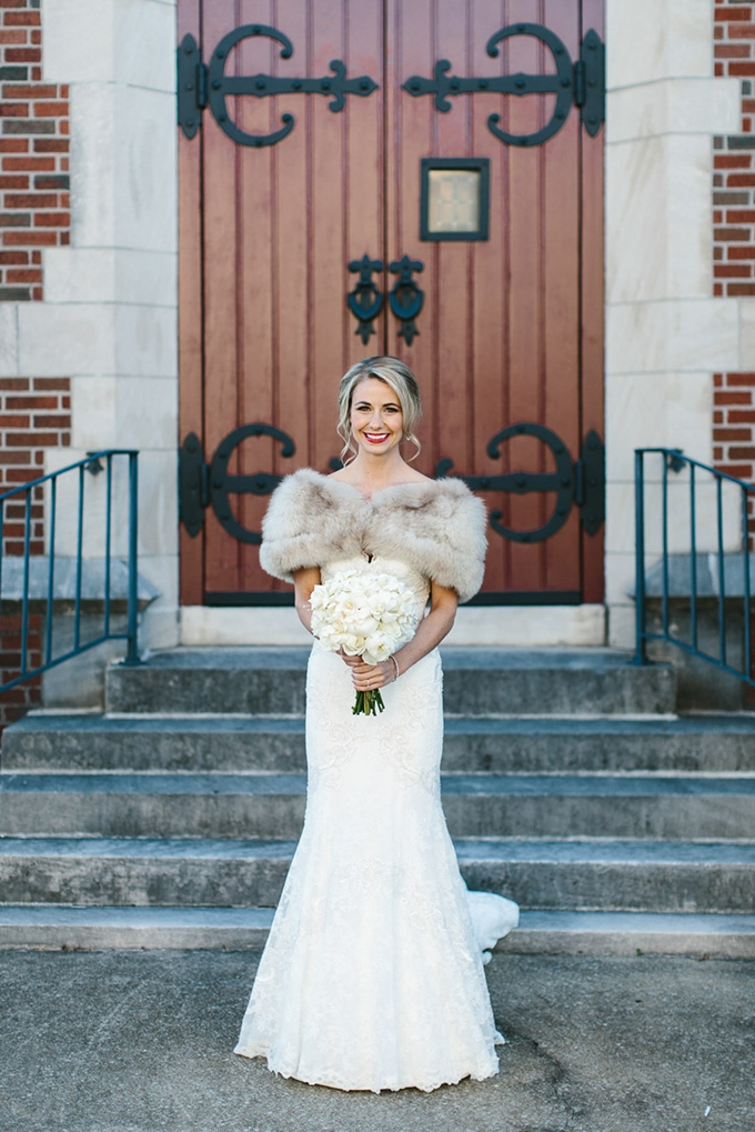glam winter wedding | Someplace Wild | Glamour & Grace