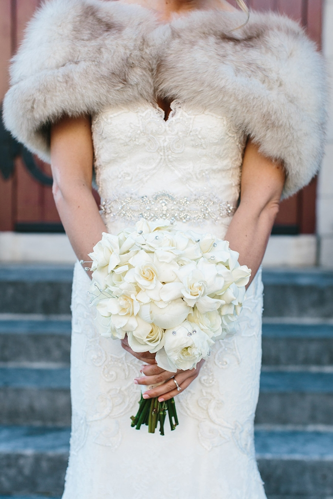 glam winter bouquet | Someplace Wild | Glamour & Grace