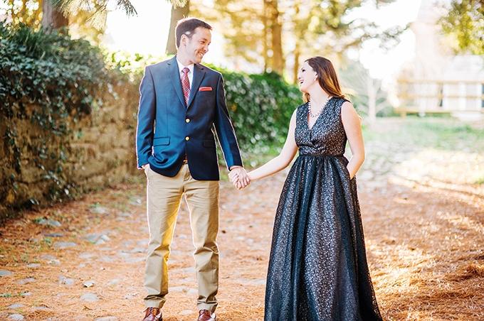 elegant manor engagement   Sarah Houston Photography   Glamour & Grace
