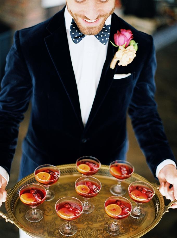 romantic jewel tone wedding inspiration | Sheradee Hurst Photography | Glamour & Grace