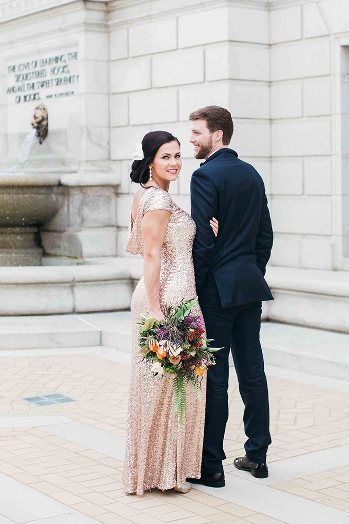 vintage glam wedding inspiration | Erin Stubblefield Weddings and Portraiture | Glamour & Grace