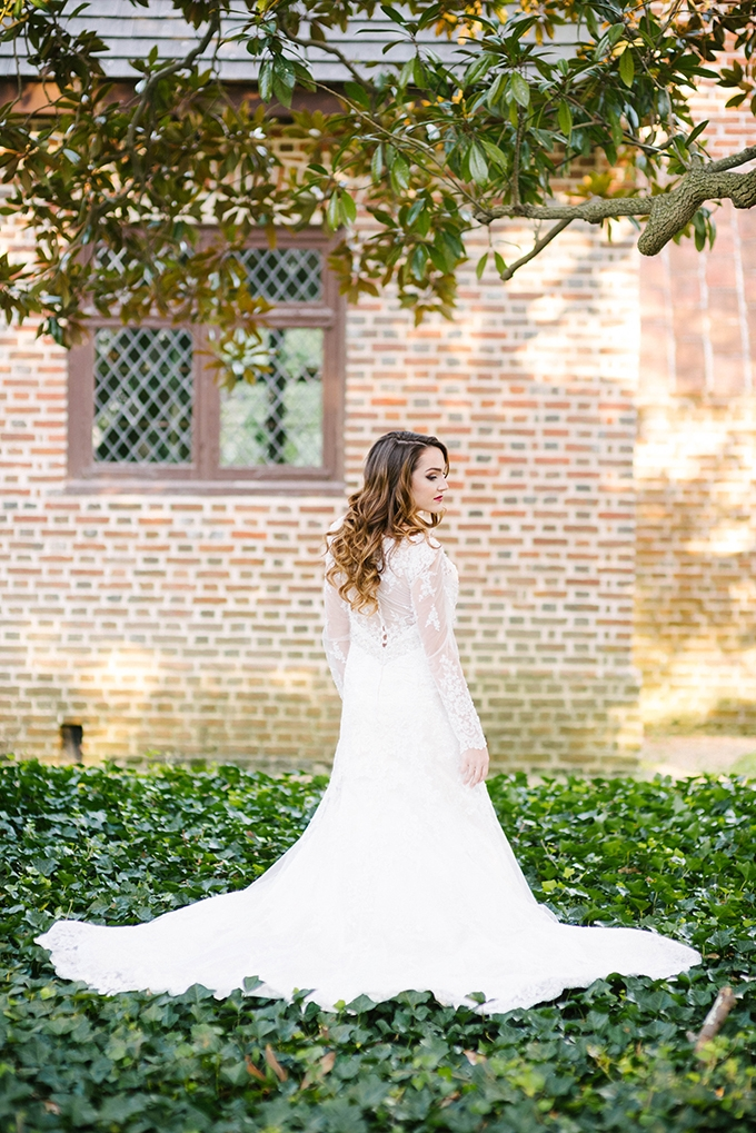long sleeve gown | Dani White Photography | Glamour & Grace