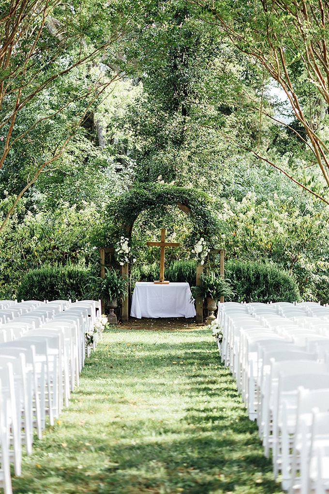 garden ceremony | Agha Photo | Glamour & Grace