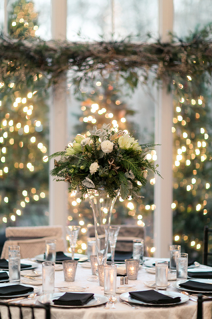 Cozy And Elegant Winter Wedding Glamour Amp Grace