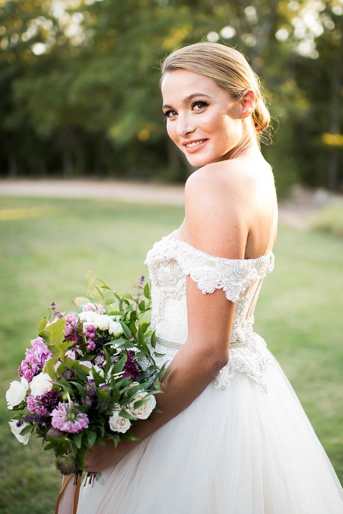 romantic bridal portraits | Andrea Elizabeth Photography | Glamour & Grace
