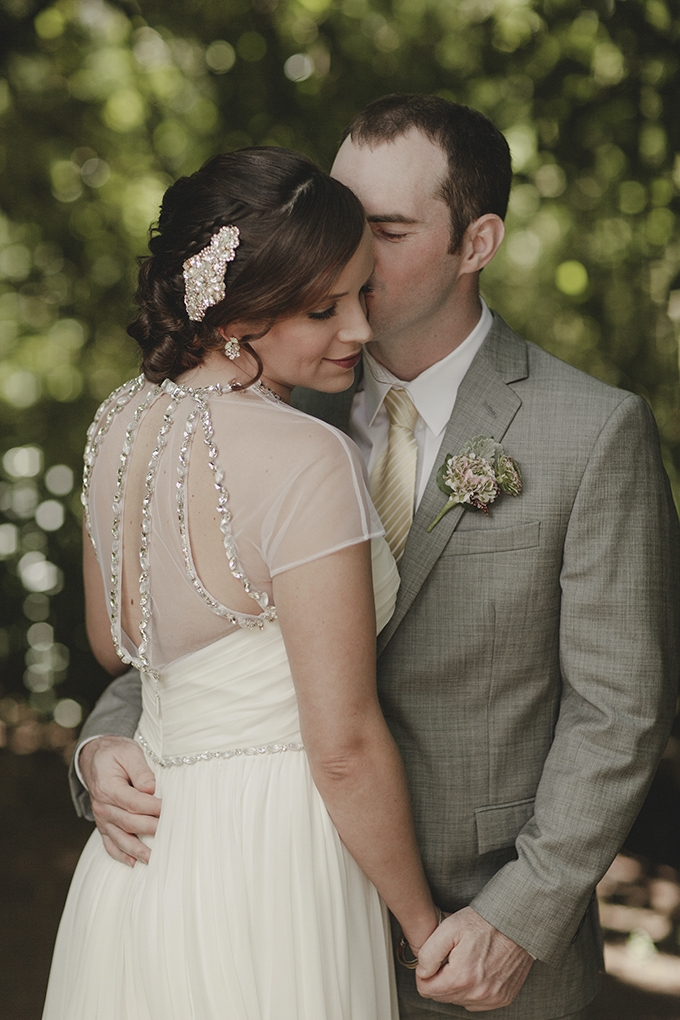 romantic forest wedding | Heather Elizabeth Photography | Glamour & Grace
