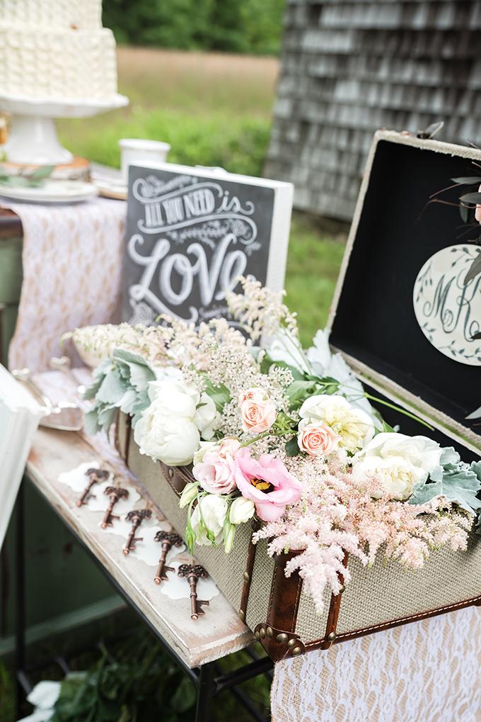Elegant Farm Wedding Inspiration Glamour Amp Grace