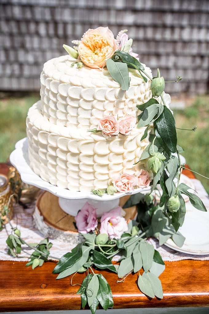romantic cake | Laura Neff | Glamour & Grace